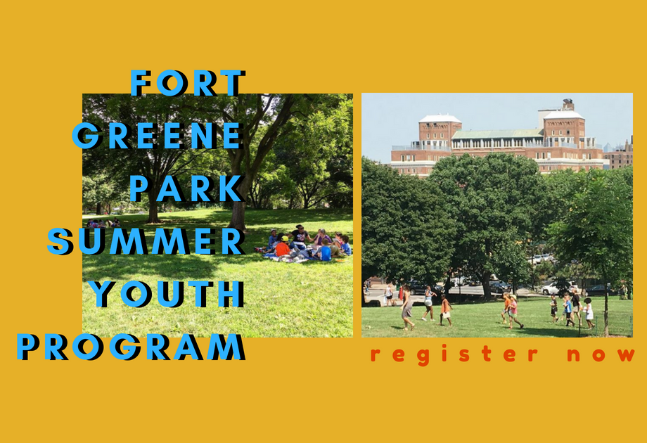 Register for This Year's Fort Greene Summer Youth Program!