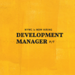 Development Manager (P/T)