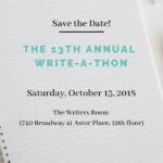 NYWC Write-A-Thon 2018!