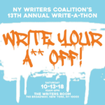 Join Us at the 13th Annual NYWC Write-A-Thon!