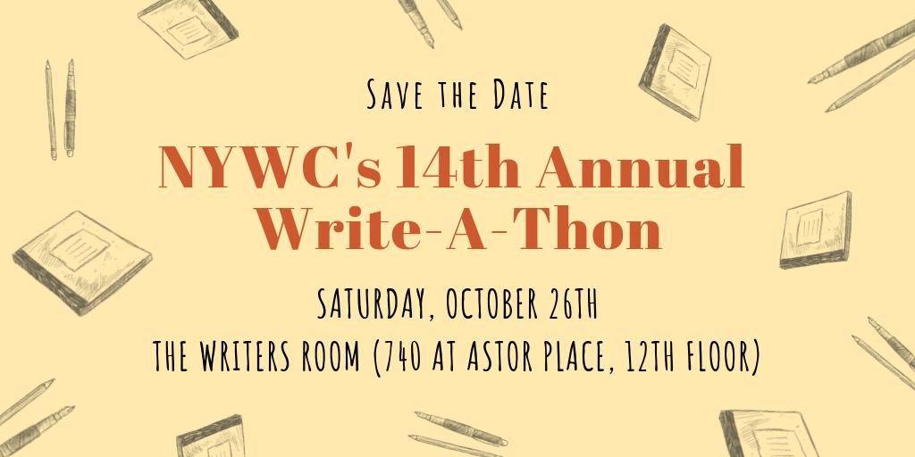 NYWC's 14th Annual Write-A-Thon